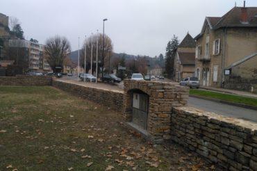 Restauration d'un muret – Crémieu