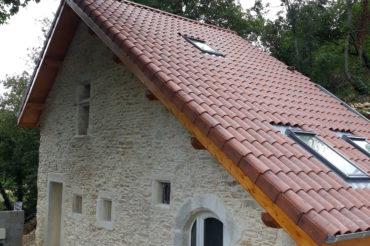 Parement mur maison- Villemoirieu