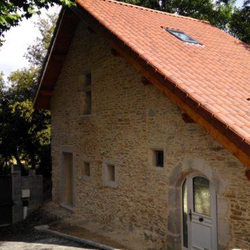 Parement mur maison – Villemoirieu