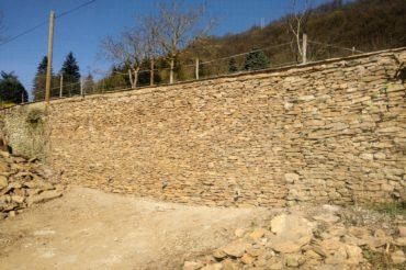 Habillage mur de soutènement – Crémieu