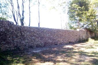 Restauration Murs d'enceinte Château de Vernas – Vernas