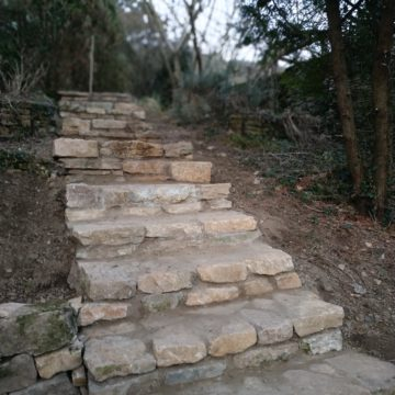 Escalier extérieur – Villemoirieu