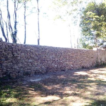 Restauration Murs d'enceinte Château de Verna – Verna